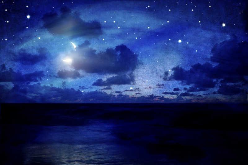 Good night  Sweet dreams  Hugs  Kisses  Rainbows  Moons